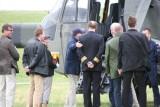 Abfahrt mit Hubschrauber