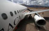 At Cuzco airport (alt. 3300m)