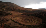 Moray, agricultural laboratory of the Incas, alt. 3500m