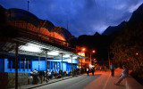 Waiting for buses to Machu Picchu, 5AM