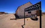 Tiahuanaco train station, elevation 3870m