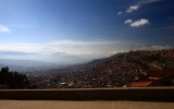 La Paz, the highest capital in the world (alt. 3660m)