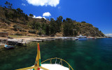 Arriving Isla del Sol (Sun Island)