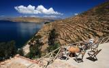 Hostal terrace, luxurious views