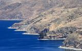 Deep blue waters of Titicaca Lake