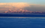 Sunset in Cordillera Real - Ancohuma summit, 6427m