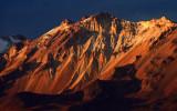 Sunset on Chachani slopes