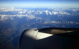 Alps with Mont Blanc in the middle