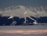 Ski resort Jasna from distance 25km