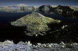 Crater Lake in Infrared