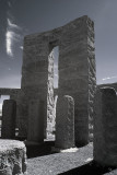 Stonehenge, Washington in Infrared