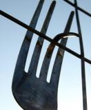 Bend fork
