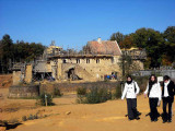 Avancement des travaux au château de Guédelon