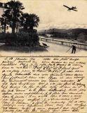 Carte animée envoyée de Pau en 1911