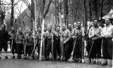Les participants du raid Urdos-Luchon