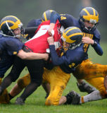 dustin in on the tackle
