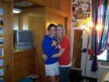 alex in her dorm room with roommate maggie