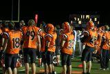 defense on the sideline