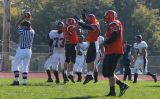 bruner and runk celebrate touchdown
