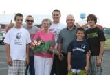 mr. and mrs. mt. orab with grandsons matt, adam, tyler, blake, and justin