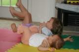 audrey and ella somersault