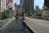 alex on michigan ave bridge