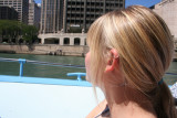 alex on the chicago river