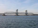 Marine Parkway Bridge (now called Gil Hodges Memorial Bridge) - from Rockaway (Brooklyn in background)