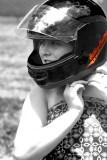 OMG  a Motorcyle....