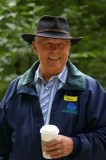 Commissioner of Public Lands Doug Sutherland was the first VIP at the site