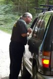 Jeep Patrol's Tom Brown gives directions