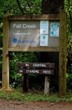 Fall Creek Sign