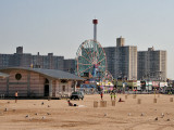Beach and Deno's Wonder Wheel