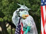 Living Statue of Liberty