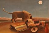 Henri Rousseau : The Sleeping Gypsy - 1897