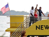 New York Water Taxi on the Hudson River
