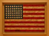 Jasper Johns : Flag - 1954