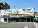 Nathan's famous Frankfurters since 1916