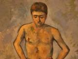 Paul Cezanne  - The bather -  1885