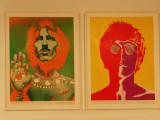 Richard Avedon : George Harrison / John Lennon - 1967