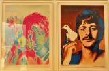 Richard Avedon : Paul McCartney / Ringo Starr  - 1967