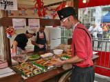 Dutch herring vendor
