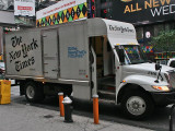 The New York Times Truck