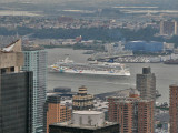 Cruise Ship on the Hudson River