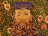 Vincent van Gogh : Portrait of Joseph Roulin - 1889
