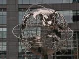 Globe at Trump Tower on Columbus Circle