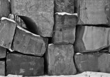 Stacked limestone blocks, Indiana, 2007.jpg