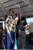 Brian Bierne (Mr. Rock and Roll (left)