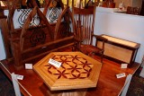 Fine woodworking display