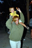 My 2 year old grandson having fun